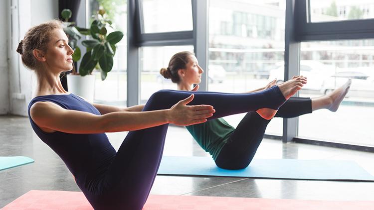 ヨガやピラティスは運動量が調整しやすい