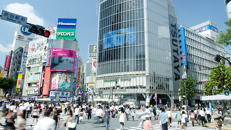 渋谷はショッピングとカルチャーを一緒に楽しめる街