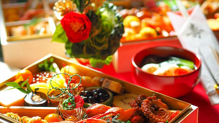 カロリーが低いおせち料理を優先的に食べる