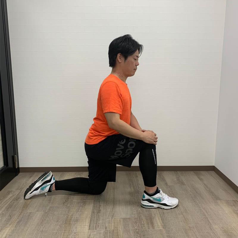 腸腰筋ストレッチB-1