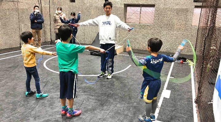 5歳から小学6年生まで!プロからなわとび・ダブルダッチを学ぼう!