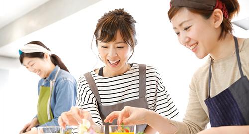 見て、作って、食べて幸せ♡ 褒められる料理を習得しよう♪
