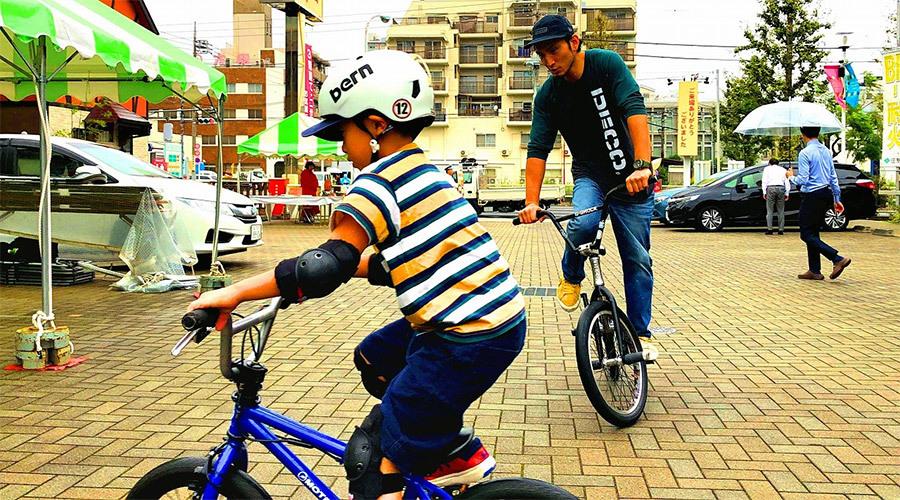 チャリトレ!子どもの成長に合わせた自転車教室