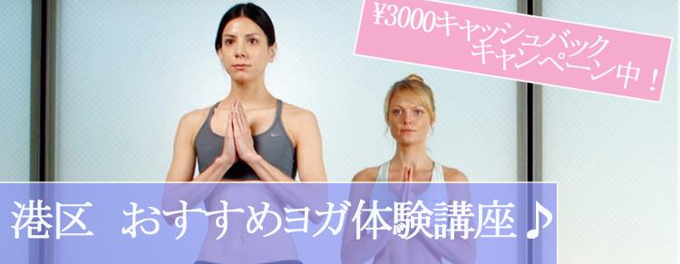 表参道・赤坂・泉岳寺エリアの無料体験できるヨガ教室・インターナショナルなヨガ教室をご紹介します。