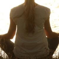 五反田ヨガの瞑想イメージ