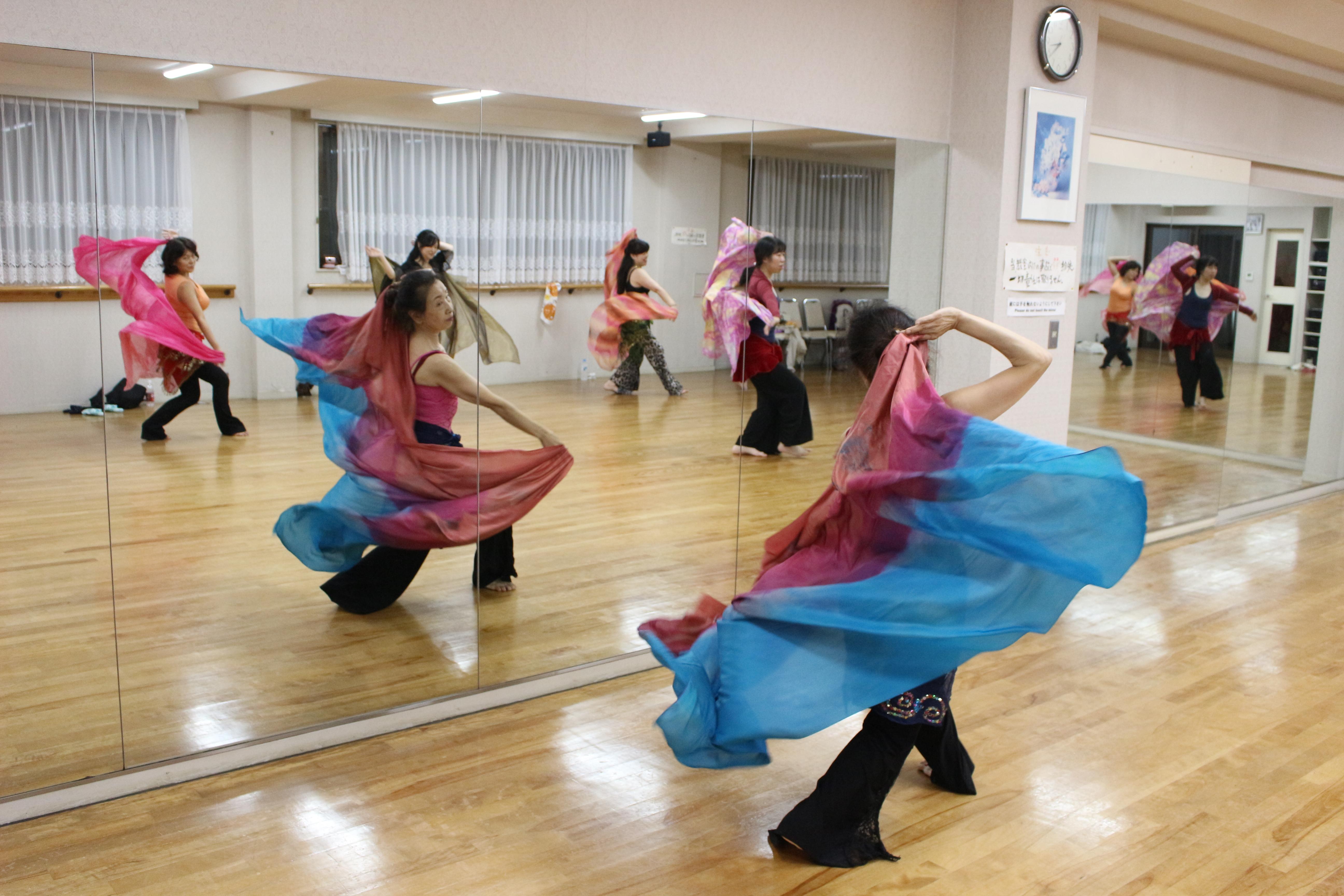 すぺーす/ウエノアケミのオリエンタルダンス