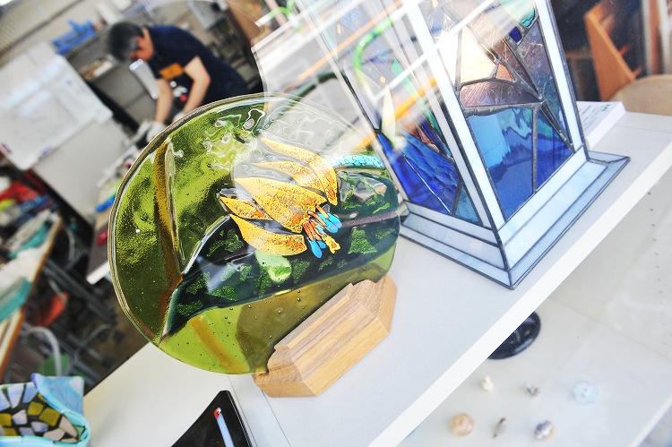 グラストレックガラス工芸教室