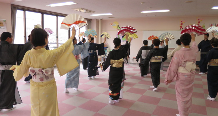 日舞研究会 一関教室の写真6