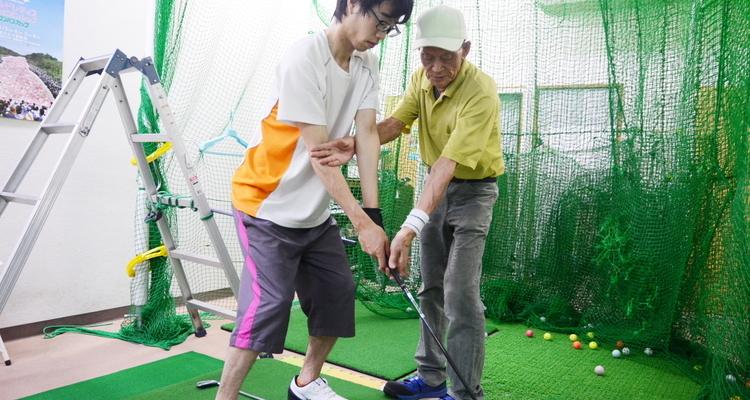 駅前梅島ゴルフスクール