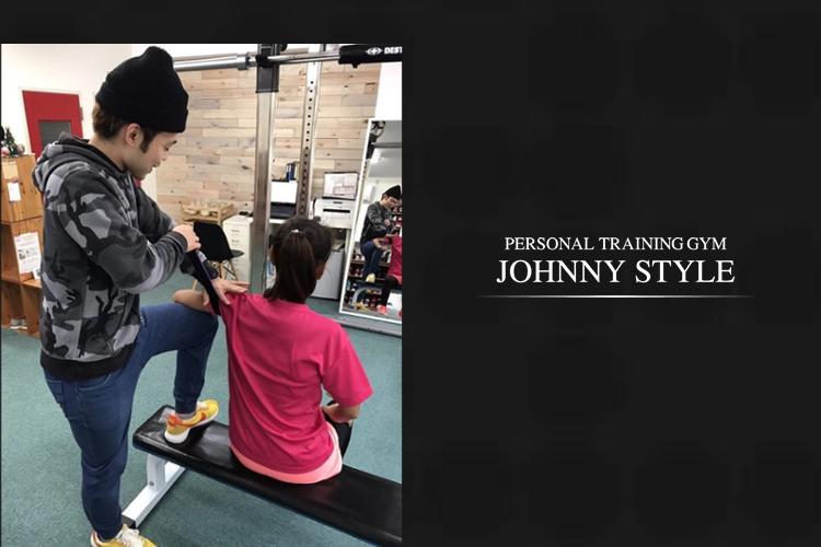 パーソナルトレーニングジムJOHNNY STYLE旗の台本店の画像