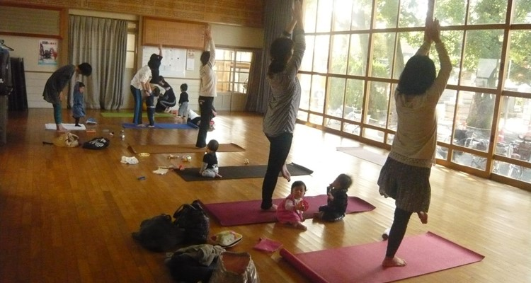 ヨガスペースShanti新城神社クラス