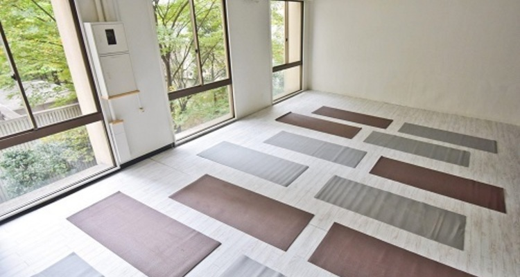 School yoga studio mats