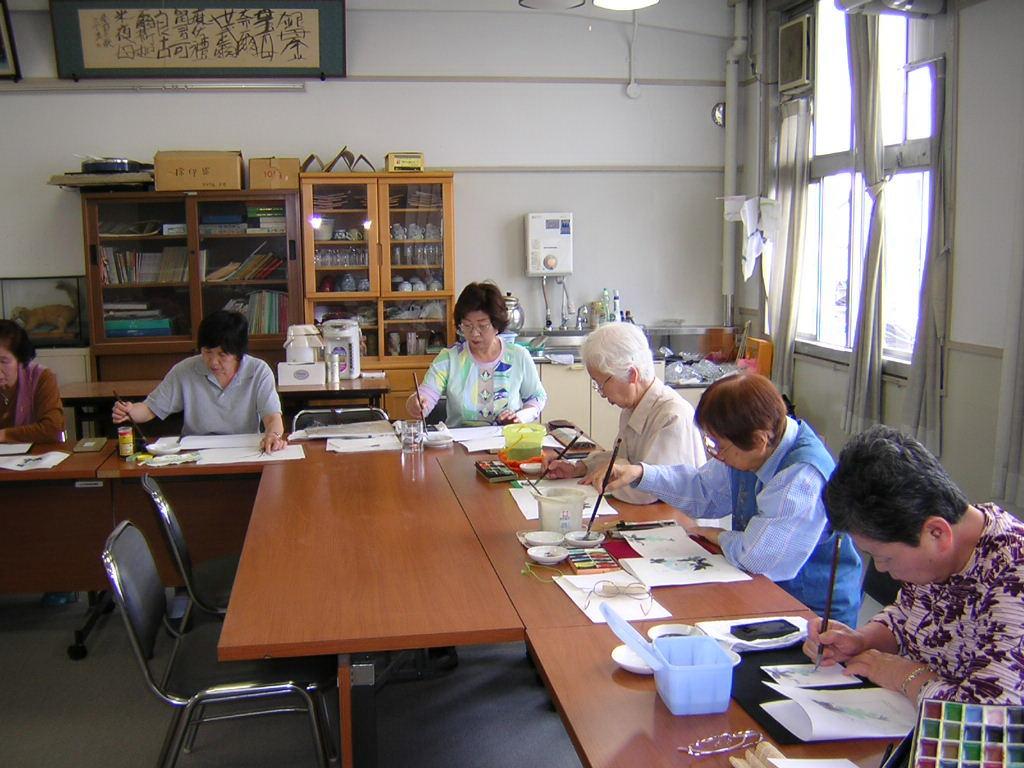 よみうり堺文化センター 西浦水墨画教室の写真5