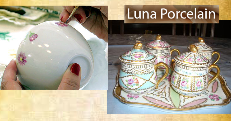 Luna Porcelain group